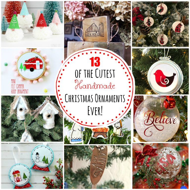 13 of the cutest handmade christmas ornaments ever 13 of the cutest handmade christmas ornaments ever square with overlay 768x768g solutioingenieria Gallery