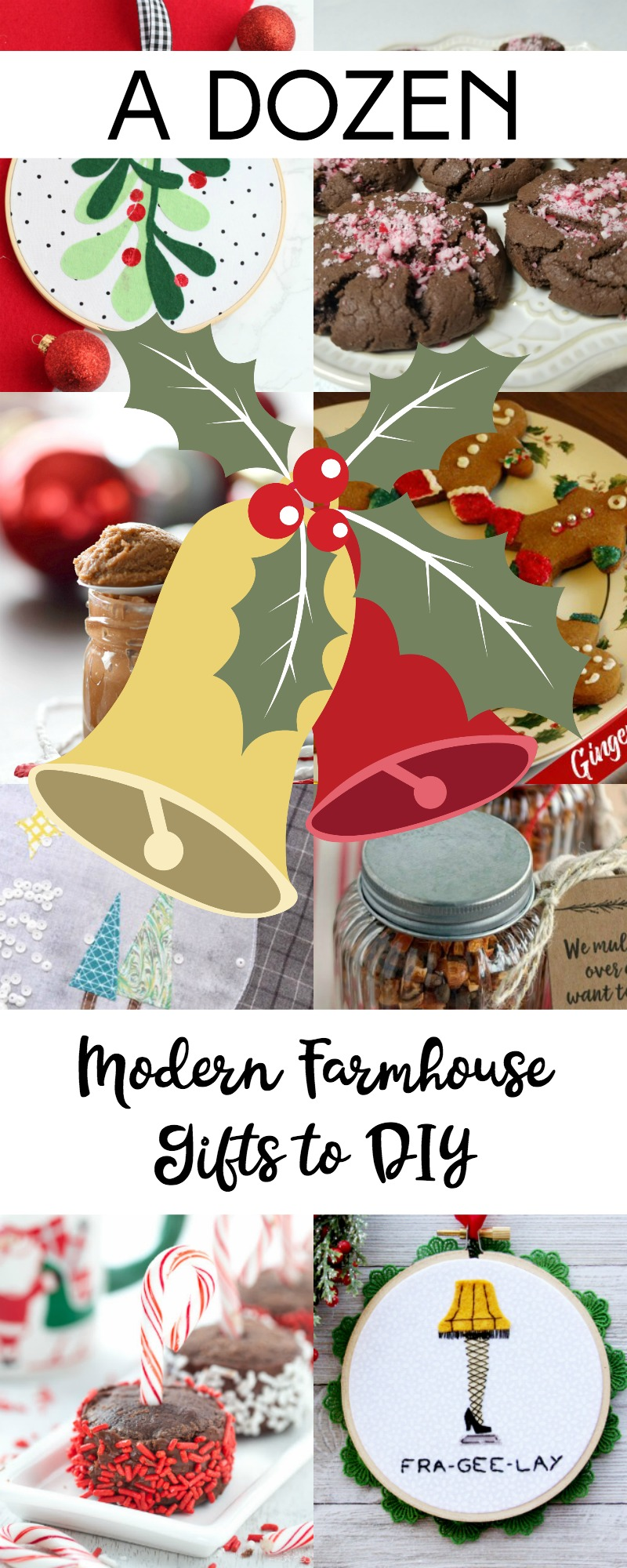 A Dozen Modern Farmhouse Gift to DIY