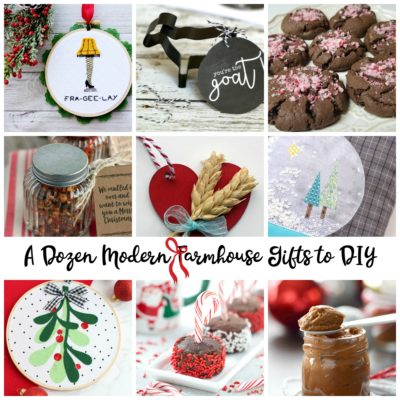 A Dozen Modern Farmhouse Gifts to DIY