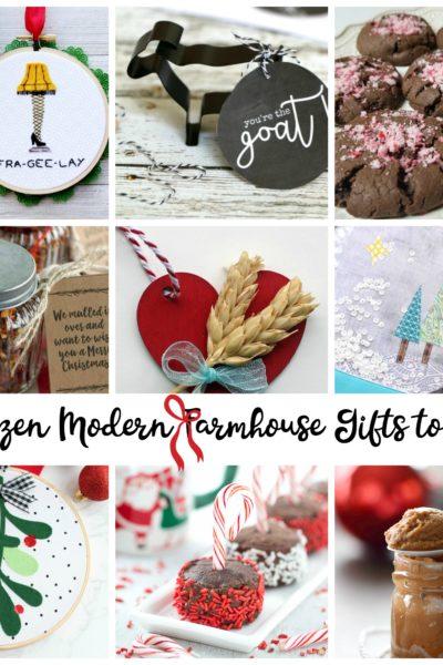 A Dozen Modern Farmhouse Gifts to DIY