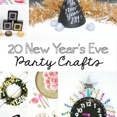 20 New Year's Eve Party Crafts