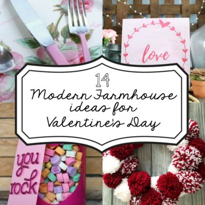 14 Modern Farmhouse Ideas for Valentine's Day