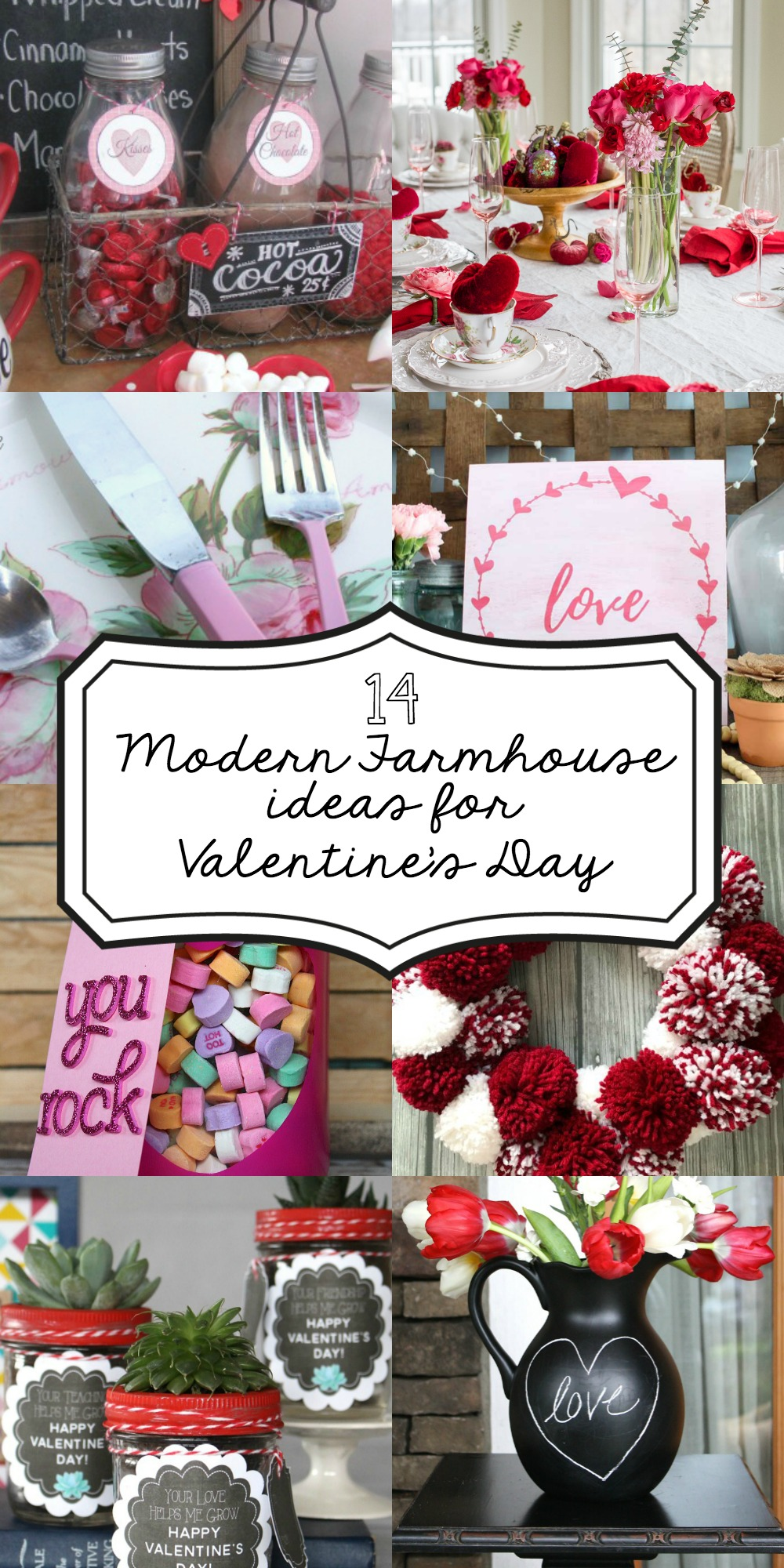 Fixer Upper Ideas for Valentine's Day