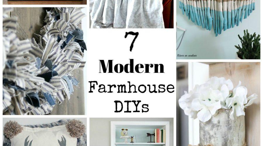 Modern Farmhouse DIYS