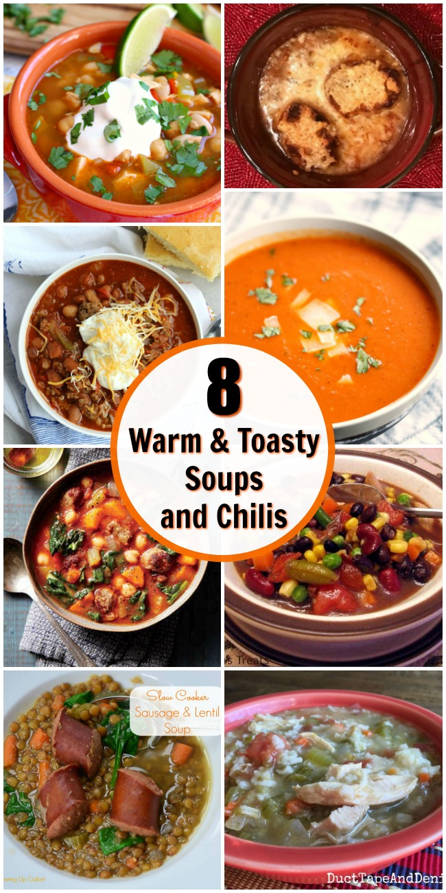 8 Warm and Toasty Soups and Chilis