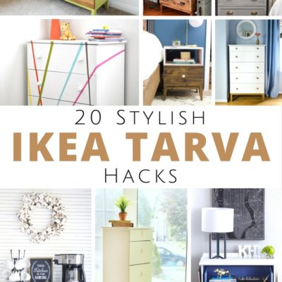 20 Stylish IKEA Tarva Hacks