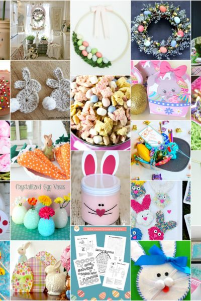 Mega Collection of Easter Crafts, Treats, Decor, and Printables