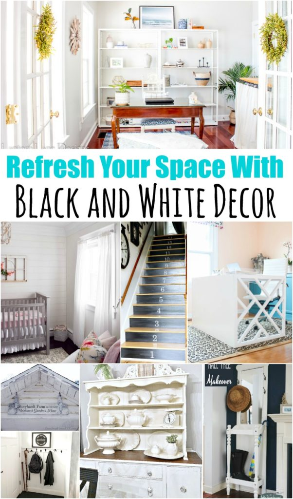 Refresh Your E With Black And White Decor 602x1024 Jpg