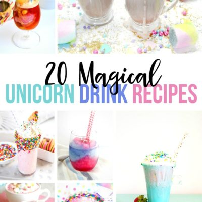 20 Magical Unicorn Drink Recipes