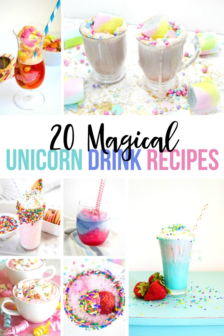 12 Magical Unicorn Drinks