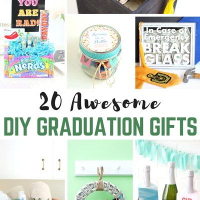 20 Awesome DIY Graduation Gifts