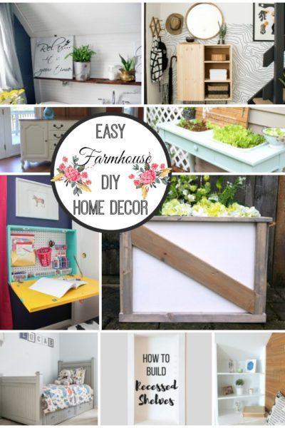 Easy Farmhouse DIY Decor