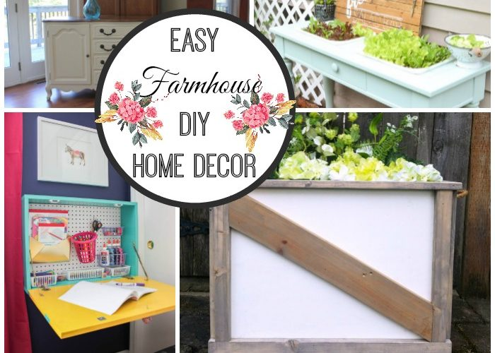 Easy Farmhouse DIY Decor