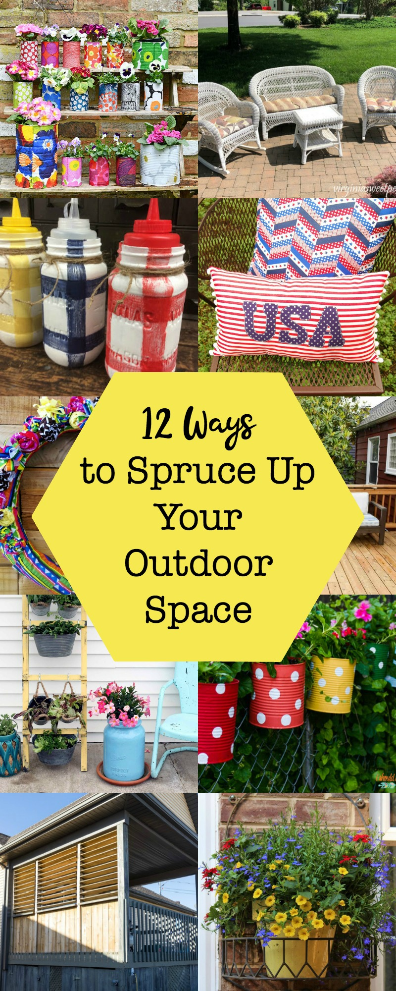 12 Ways to Spruce Up Your Outdoor Space