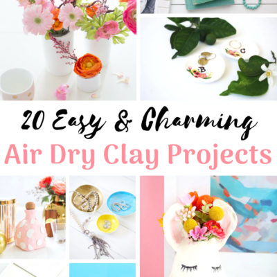 20 Easy & Charming Air Dry Clay Projects