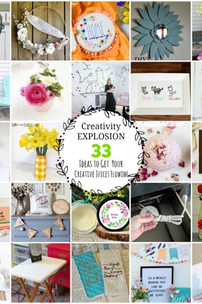 33 Ways to Get Your Creative Juices Flowing
