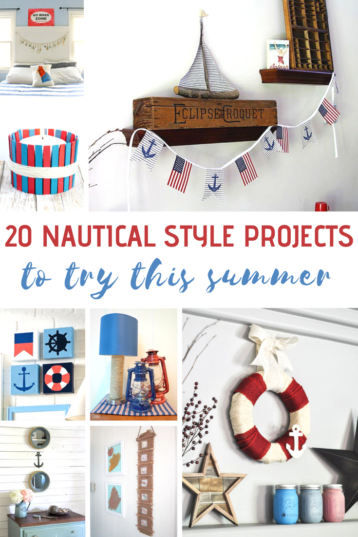 Nautical Style Projects To Try This Summer