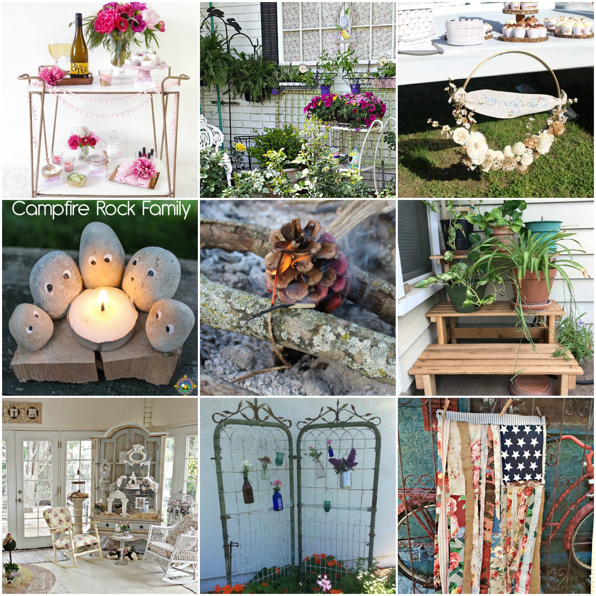 Summer Decor and Outdoor Fun Ideas