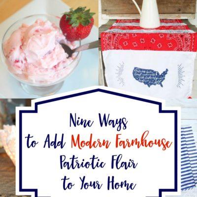 9 Ways to Add Patriotic Modern Farmhouse Flair