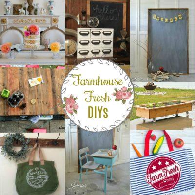 Farmhouse Fresh DIYS