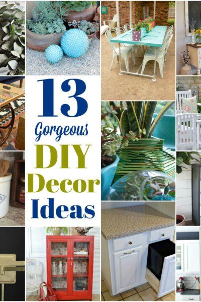 13 Outrageously Gorgeous DIY Decor Ideas