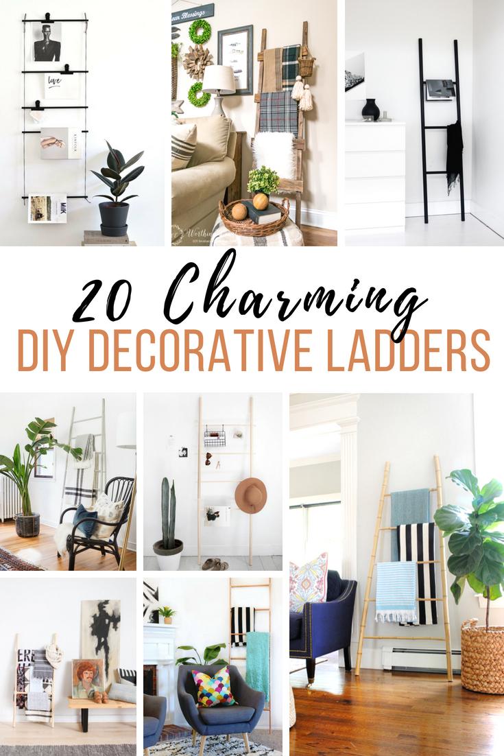 DIY Decorative Ladders
