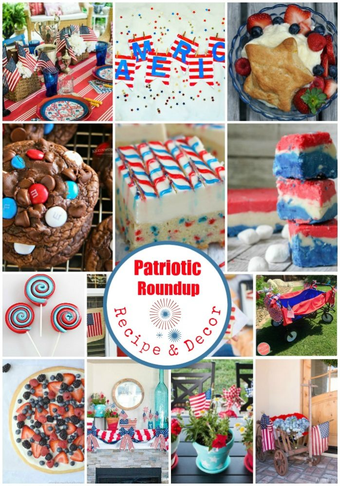 Patriotic Recipe and Patriotic Decor