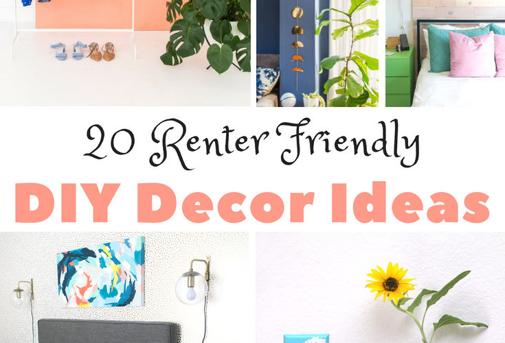 20 Renter Friendly DIY Decor Ideas