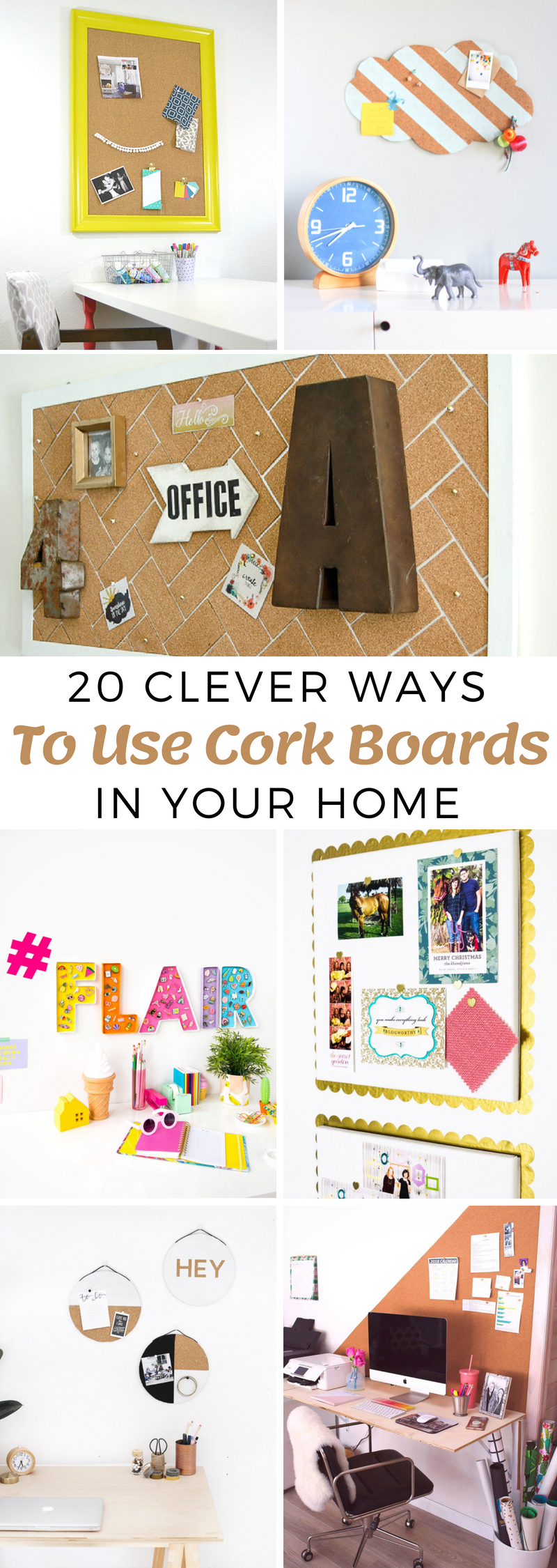 Ways To Use Cork Boards In Your Home