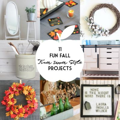Fun Fall Fixer Upper Style Projects