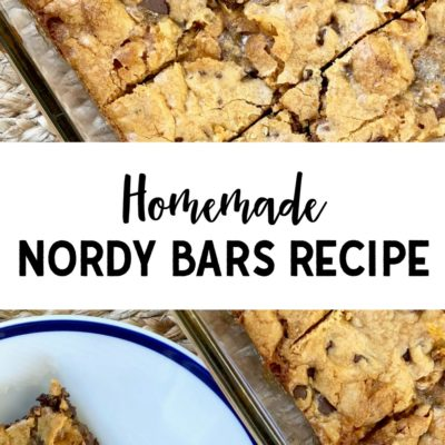 Homemade Nordy Bars Recipe