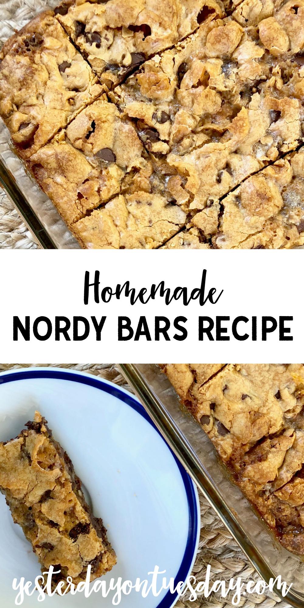 Homemade Nordy Bars Recipe