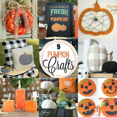 9 Pumpkin Crafts & Decor Ideas