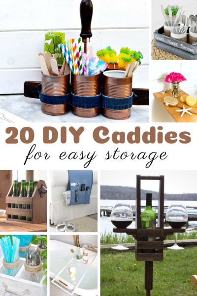 20 DIY Caddies for Easy Storage