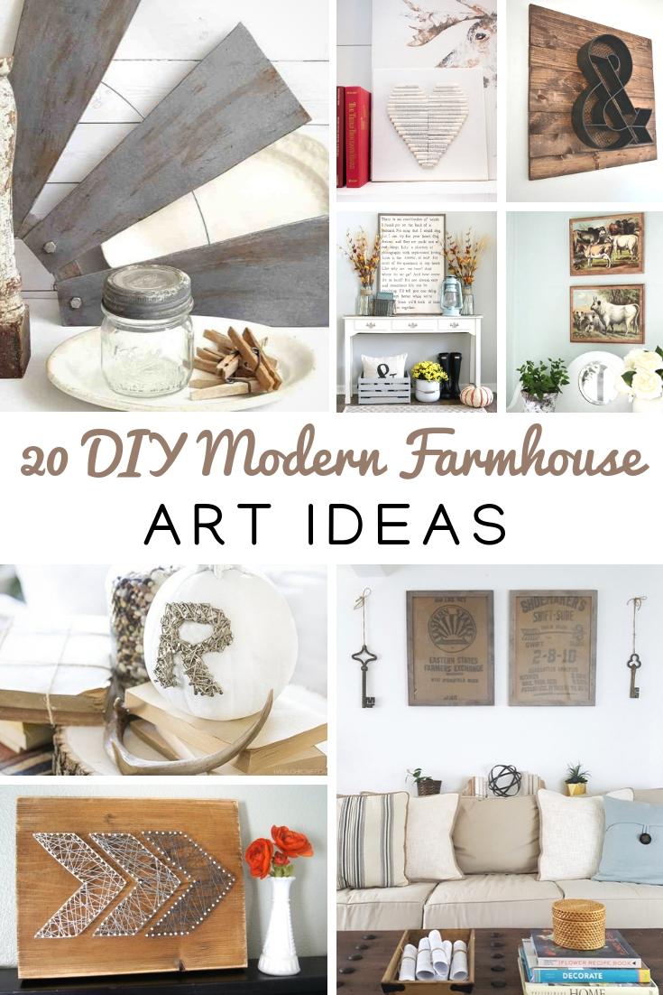 DIY Modern Farmhouse Art