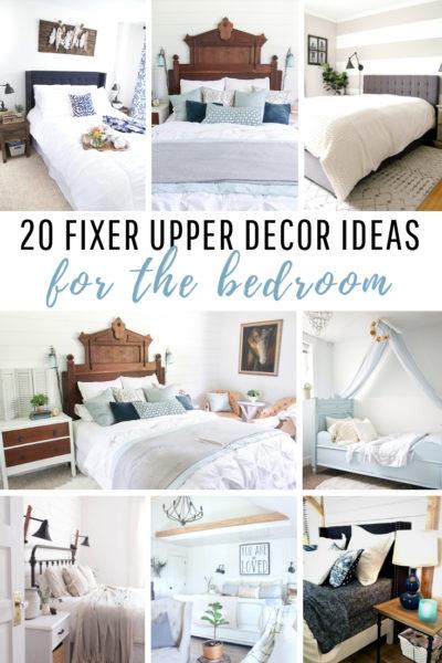 20 Fixer Upper Decor Idea for the Bedroom