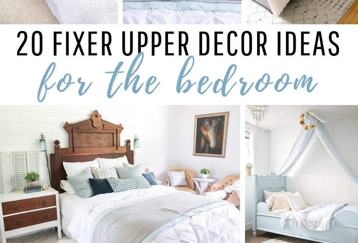Fixer Upper Decor Ideas for the Bedroom