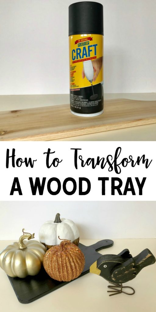 How to Transform a Wood Tray