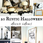 Rustic Halloween Decor Ideas