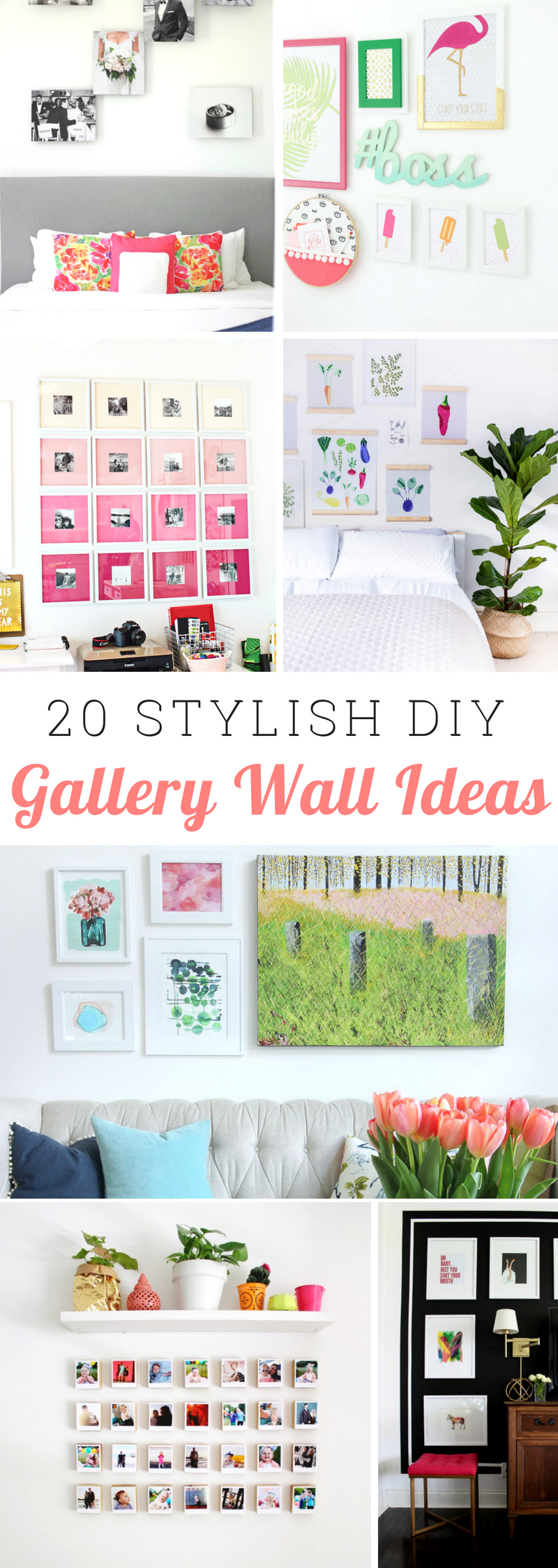 Stylish Gallery Wall Ideas