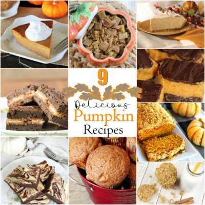 9 Delicious Holiday Pumpkin Recipes