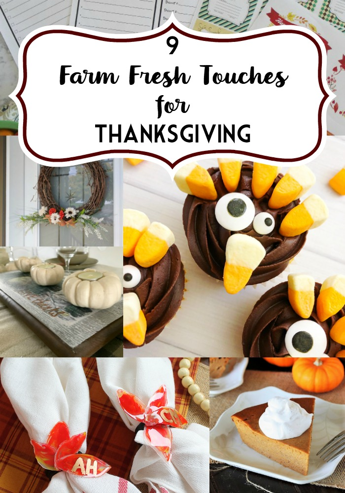9 Farm Fresh Touches for Thanksgiving