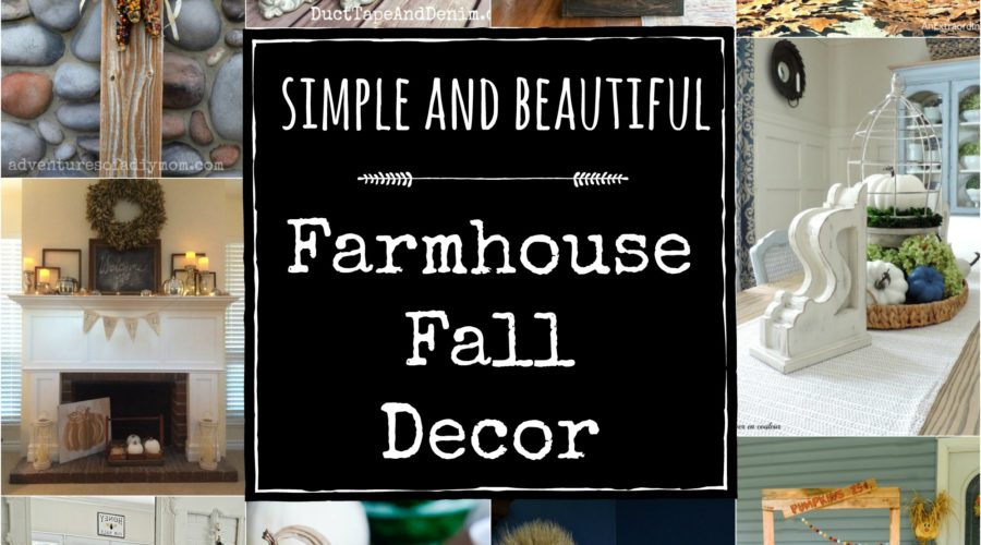Simple and Beautiful Farmhouse Fall Decor