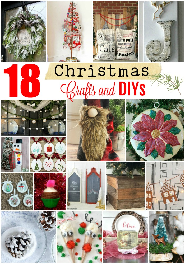 18 Christmas Crafts and DIYs to Make This Year