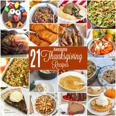 21 Awesome Thanksgiving Recipes