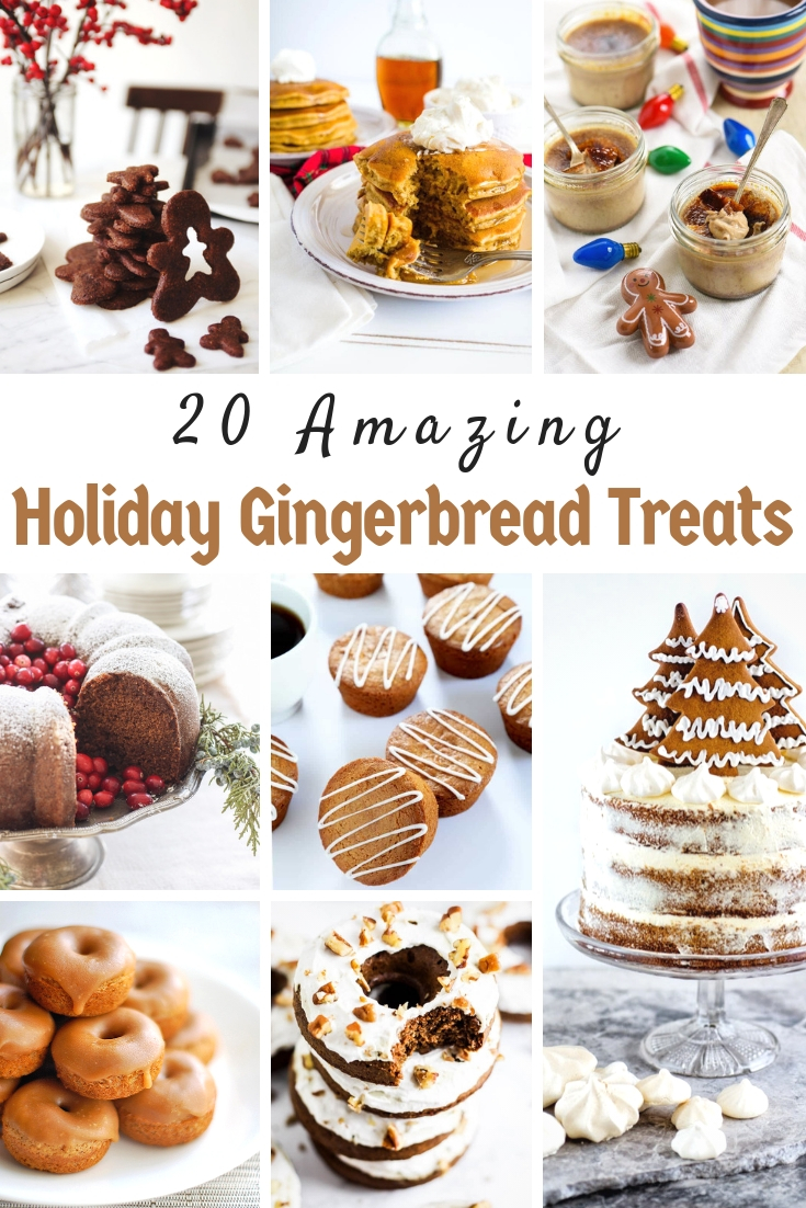 Holiday Gingerbread Treats