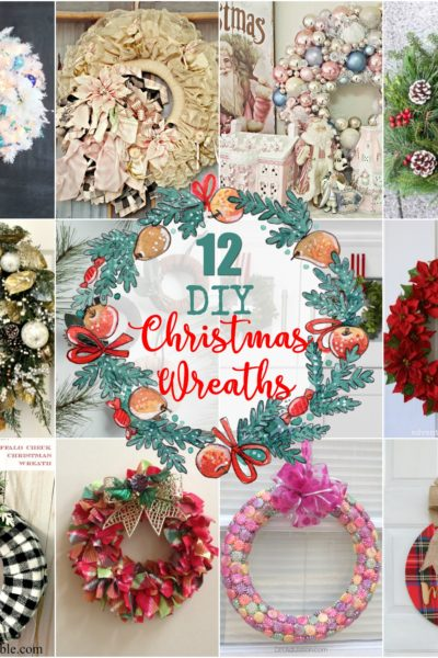 12 Beautiful DIY Christmas Wreaths