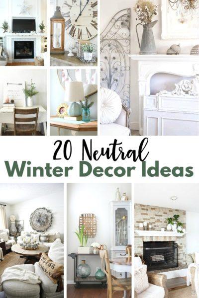 20 Neutral Winter Decor Ideas