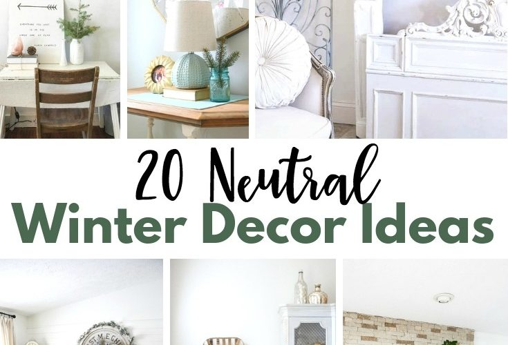 20 Neutral Winter Decor Ideas