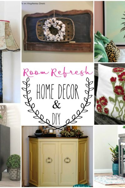 Room Refresh Home Decor and DIY Ideas